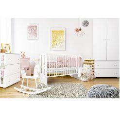 Baby room in scandinavian style
